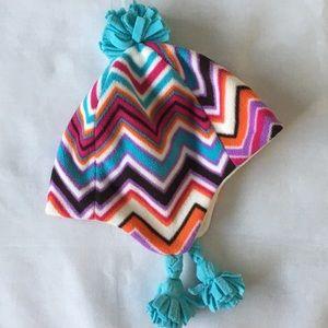 Gap hat size small medium girls fleece ear flaps
